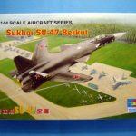 SUKHOI SU-47 BERKUT & TRUMPETER SUKHOI SU-34 STRIKE FLANKER