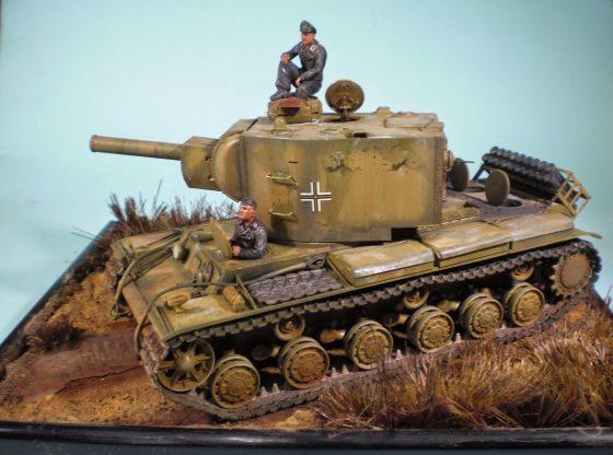 Panzerkampfwagen 754(r) KW-2