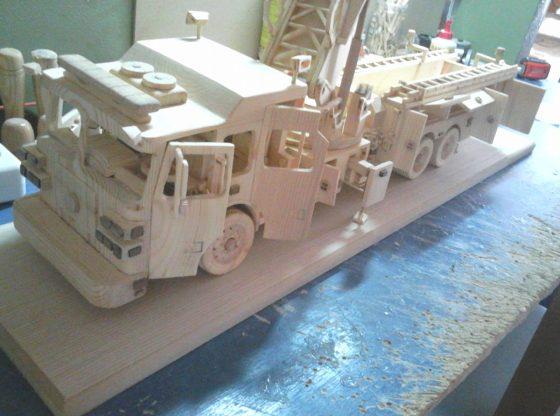 Sutphen Fire Truck 95'