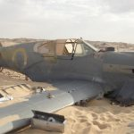 P-40 Kittyhawk found in the desert