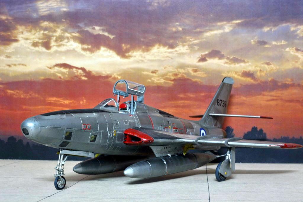 Rf 84f Thunderflash Scale Modelling