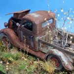 '37 Ford pickup truck abandoned and rusted…
