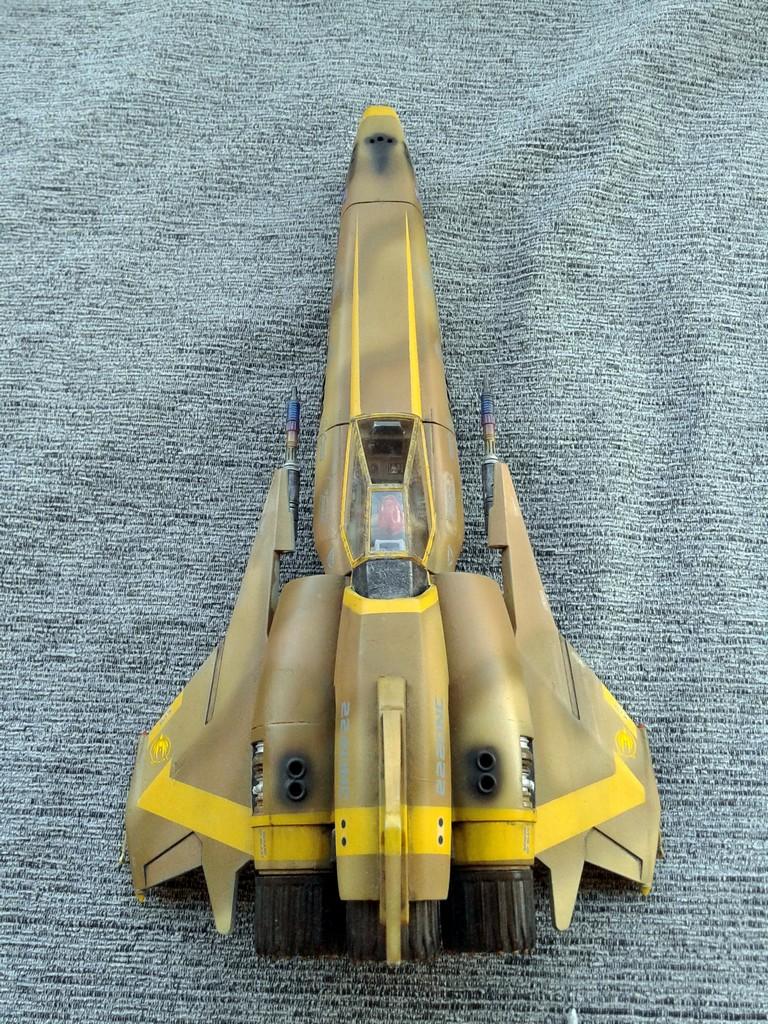 Galactica Viper Mk I Scale Modelling