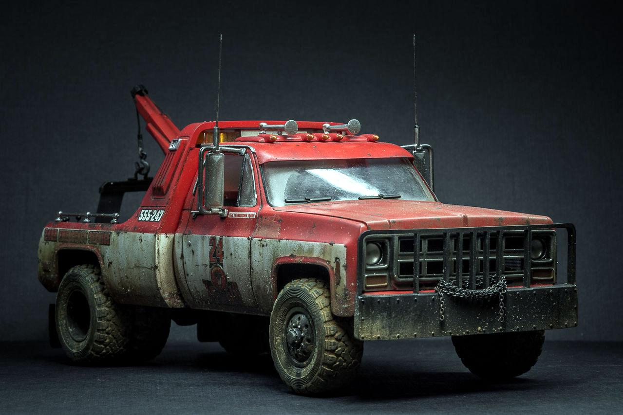 1977 Gmc Wrecker Scale Modelling