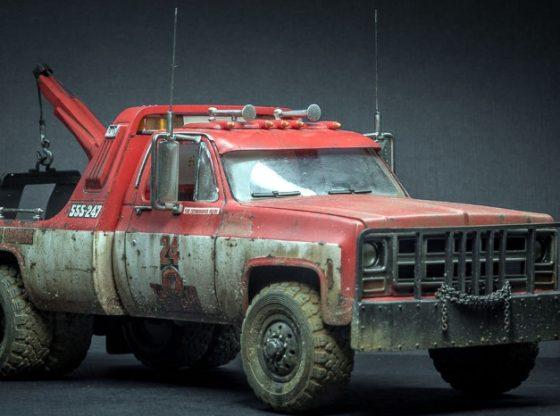 Revell 1977 GMC wrecker
