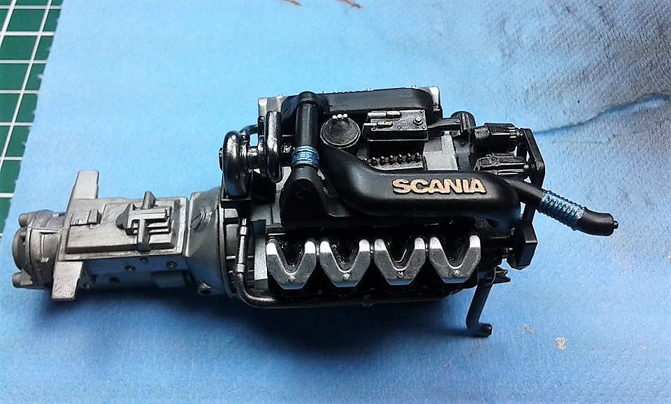 Scania R730 V8 Imperial Scale Modelling
