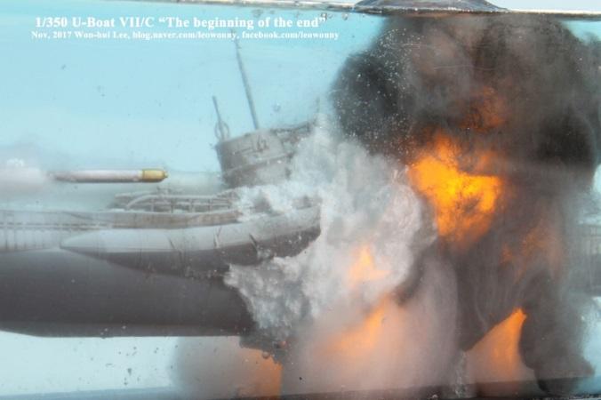 Revell U-boat Type VII/C