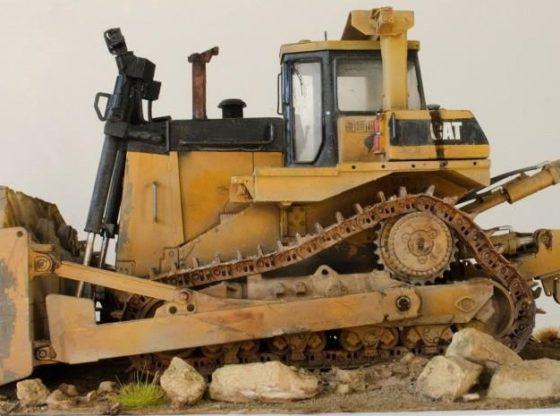 Armored Bulldozer D9R