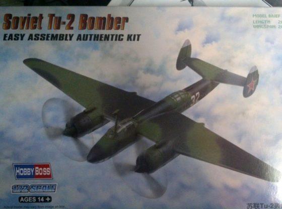 Hobby Boss Tu-2 Bomber