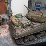 M4A3 Sherman on an Italian street